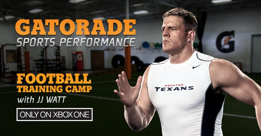 Gatorade with JJ Watt